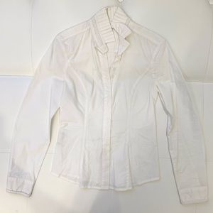 VERSACE VJC Cotton Button Down Shirt Sz XS